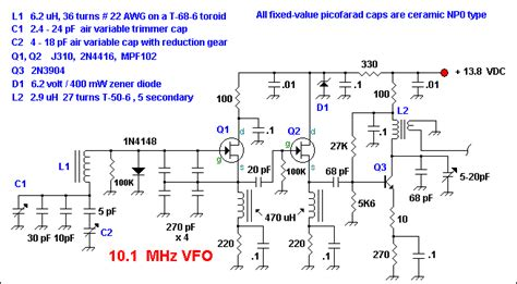 Circuits Electronics Mhz Popcorn Vfo Electronic