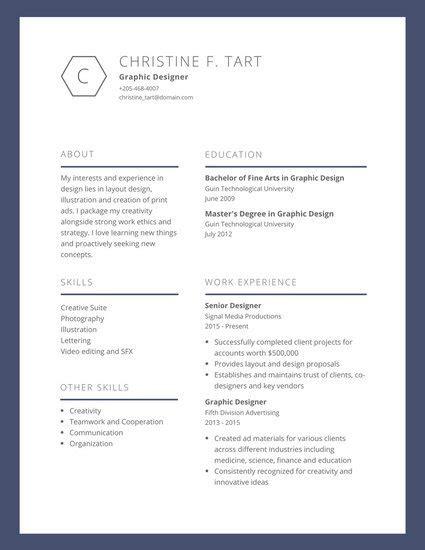 established visual artist resume templates  canva