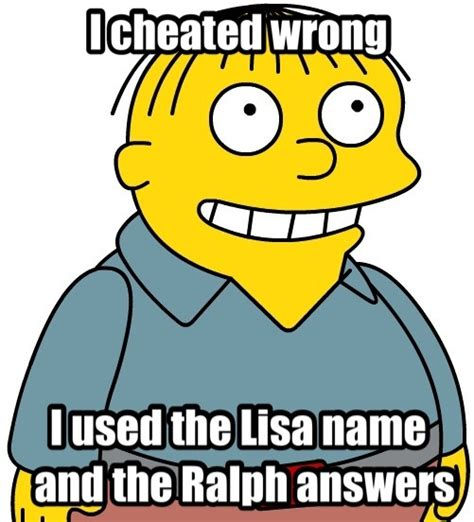 Ralph Wiggum Quotes Ralph Wiggum Quotes