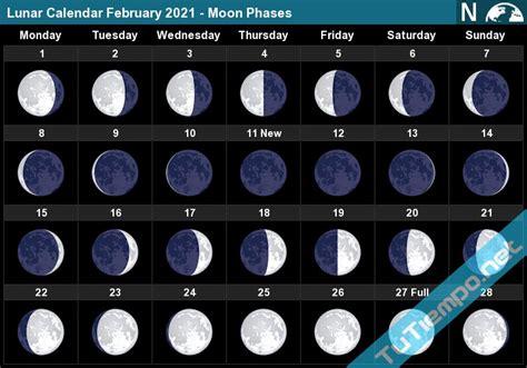 february  full moon phases calendar calendar