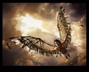 FLIGHT OF ICARUS/ORIGIN: When Daedalus tried to escape the ...