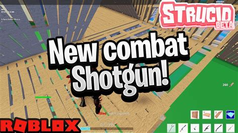 combat shotgun update  strucid roblox fortnite buy