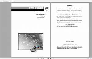 Volvo Fe  3  Trucks Service Manual Buses  U0026 Wiring Diagrams