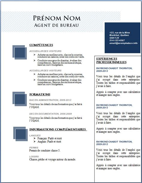 Créer Cv Word by Resume Format Telecharger Cv Enseignant