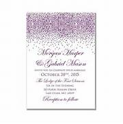 Printable Wedding Invitation Purple Wedding Purple Sparkles DIY Free Printable Wedding Invitation Templates Download 2 Free Printable Wedding Invitations POPSUGAR Smart Living Wedding Invitation 1041 SAMPLE Modern Invitation By WestandPine