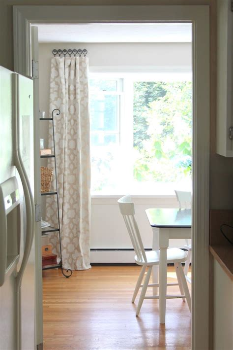 easy bay window curtain rod ideas all about house design