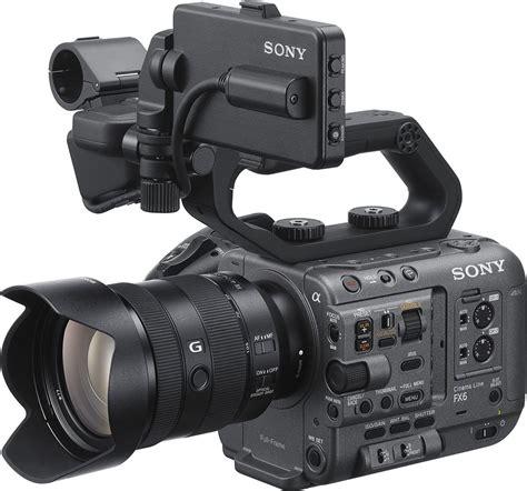 SONY FX6 täiskaader cinema-line kaamera - MediaGear