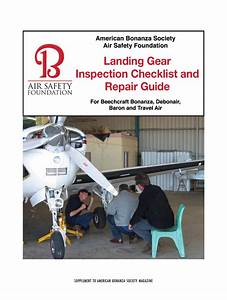 Landing Gear Inspection Checklist And Repair Guide
