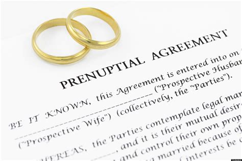prenuptial agreement indecent is a prenup a pre requisite or a