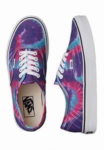 Vans - Authentic Tie Dye Pink/Purple - Girl Shoes ...