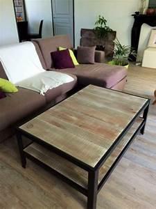 Table Salon Industriel : table basse double plateau style industriel scandinave ~ Melissatoandfro.com Idées de Décoration