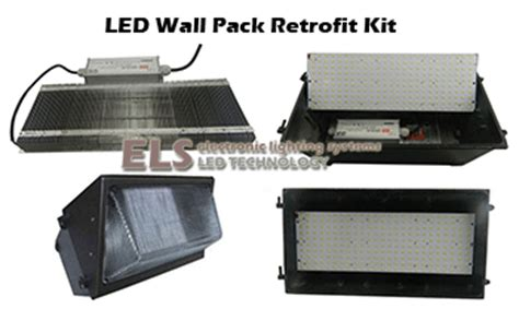els 60 watt led wall pack retrofit kit