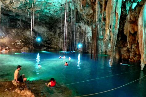 Mysterious Xkeken Cenote Valladolid Mexico World For