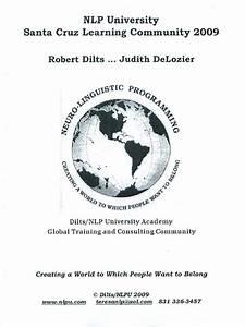 Robert Dilts - 2009 Nlp Practitioner