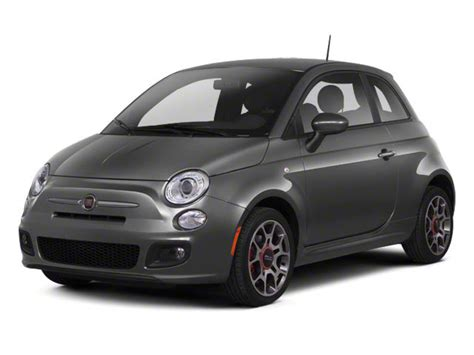 Fiat 500 Sport Specs by 2013 Fiat 500 Hatchback 3d Pop I4 Prices Values 500