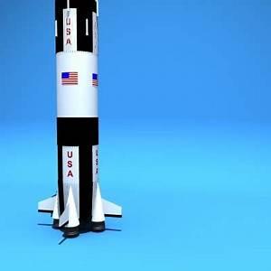 apollo 13 rocket 3d model