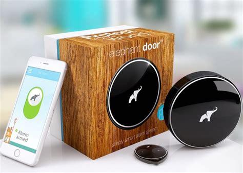 Elephant Door Smart Alarm System Notifies You If Your Door