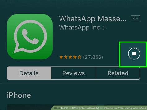 how to sms internationally on iphone for free using whatsapp