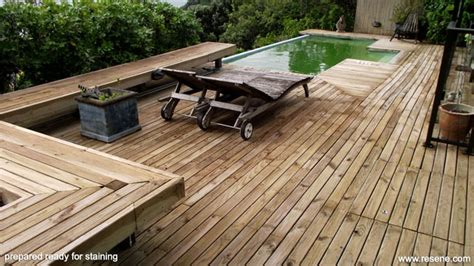 a nicely stained or deck can make a difference to how your deck looks and how well it