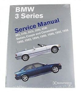 service and repair manuals 2004 bmw 3 series on board diagnostic system bmw e36 3 series 92 98 bentley service repair manual ebay