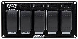 Quickcar Ignition Panel W   Rocker Switches  U0026 Fuses 52
