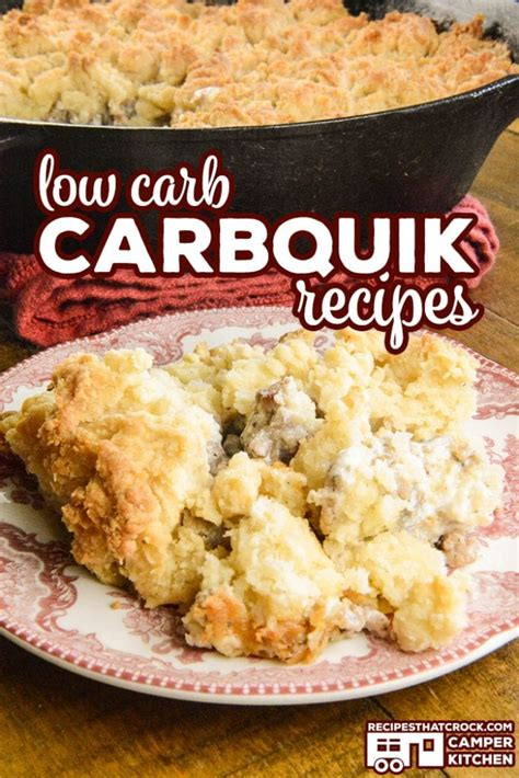 carbquik carb biscuits recipes low bakes crust pizza gravy