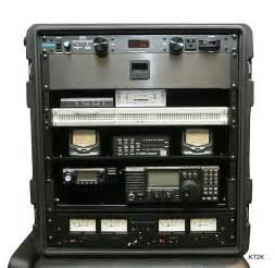 Portable Ham Radio Go Box Rack