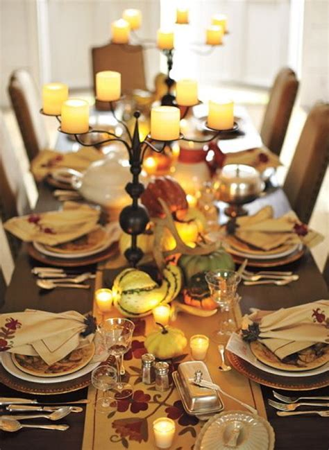 decorating table for thanksgiving dinner 20 gorgeous and awesome thanksgiving table decorations home design and interior