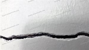Reparer Grosse Fissure Mur Exterieur : reboucher fissure mur exterieur traiter les fissures sur ~ Melissatoandfro.com Idées de Décoration