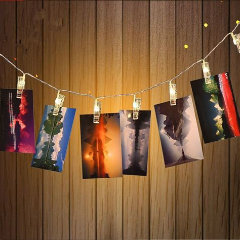 how to photograph christmas lights indoors aliexpress buy 5m 20 leds light indoor 3xaa battery operated photo clip string