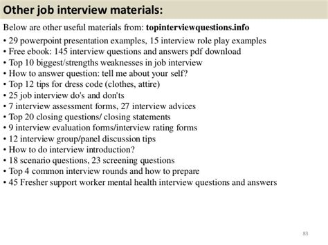 Mental Health Questions And Answers by Top 62 Support Worker Mental Health Questions