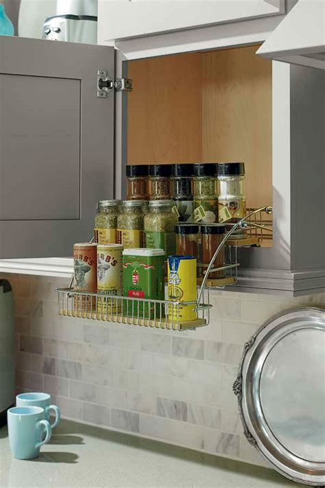 pull  spice rack schrock cabinetry