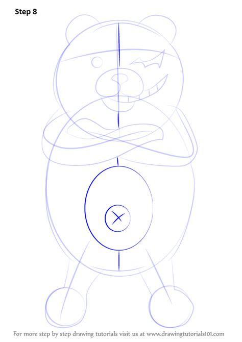 learn   draw monokuma  danganronpa danganronpa step  step drawing tutorials