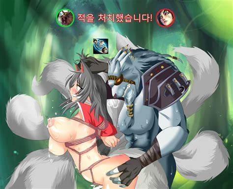 His Nympho Take Crack By Another Brother League Of Legends Hentai Dildoing