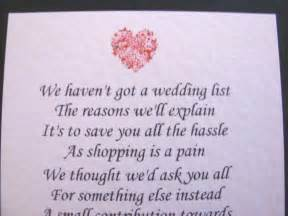 how to ask for money as a wedding gift 20 wedding poems asking for money gifts not presents ref no 2 1 99 picclick uk