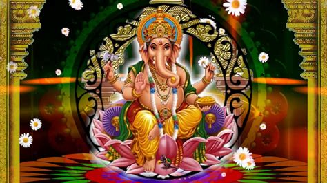 Lord Ganesha Animated Wallpapers - hd lord ganesh background animated