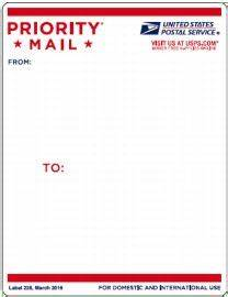 priority mail goes vertical With how to print priority mail labels