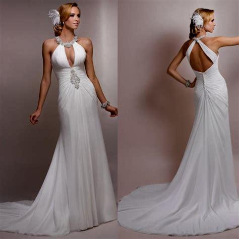 Davids Bridal Halter Wedding Dresses Naf Dresses