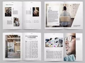 25 Modern InDesign Magazine Templates INDD INT Ginva