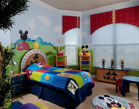 Mickey Mouse Bedroom Ideas by 25 Disney Inspired Rooms That Celebrate Color And Creativity