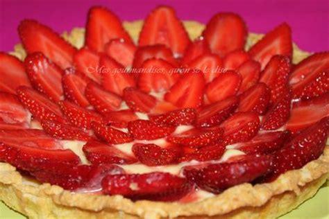 tarte aux fraises sur sabl 233 s bretons mes gourmandises qu on se le dise