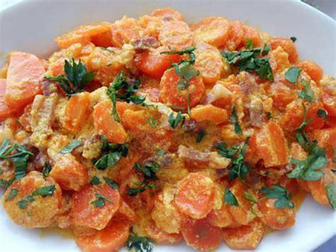 cuisine en cocotte recette de carottes alla carbonara