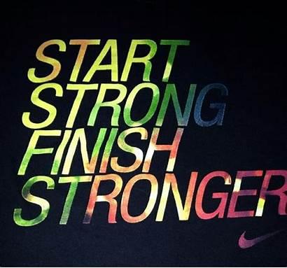 Strong Finish Start Stronger Always Fra Basketball