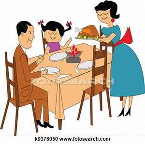 Family Dinner Table Clipart | Clipart Panda - Free Clipart ...