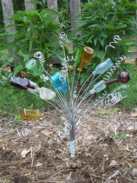 pin  karen   bottle trees bottle garden garden