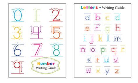 preschool writing guides
