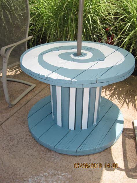 ideas  wooden spool tables  pinterest