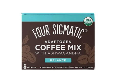 Perfect for our vegan, paleo, keto, dairy free or. Four Sigmatic Adaptogen Coffee Mix Packets with Tulsi & Ashwagandha 10 x 2.5g Sachets