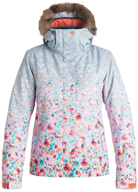 roxy jet ski gradient snowboard jacket womens