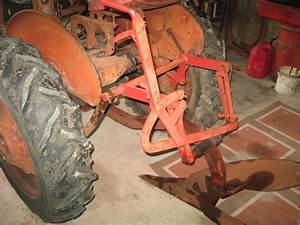 A Farmall With One Bottom Plow